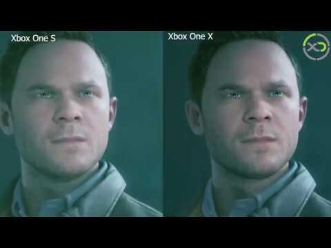 Quantum Break Xbox One X Enhanced 4K Upgrade VS. Xbox One S Gameplay