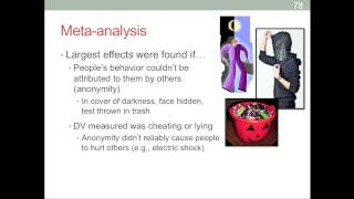 Research Review: 8 - Meta-analysis