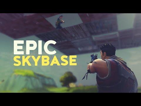 EPIC SKYBASE (Fortnite Battle Royale)