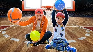 Basketball for Kids | Learn Sports for Children and Toddlers