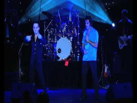 Mark Andrew - Louie Lee Feltrin sing TROUBLE - VIVA LAS VEGAS - ELVIS vs ROBBIE