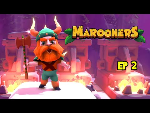 BEATINGS! Marooners Gameplay, Multiplayer on PC Ep 2! (Party Games) |