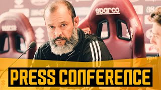 Nuno's pre-Torino press conference