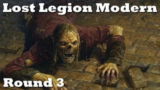 Lost Legion Modern - Round 3 - GW Hate Bears vs. Caw Blade - 12/11/13