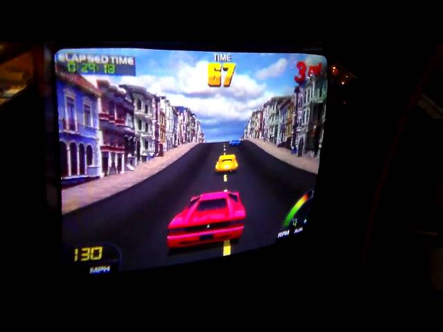 Midway & Nintendo's Awesome Cruis'n USA Arcade Game!  Cabinet overview, artwork, gameplay!
