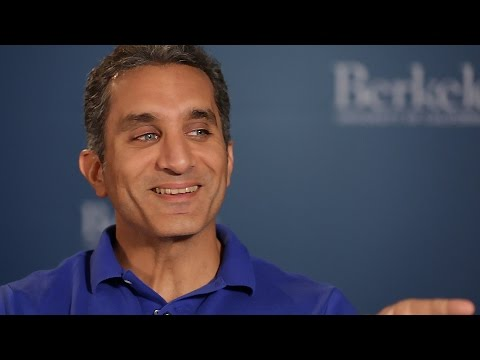 Bassem Youssef Interview at UC Berkeley