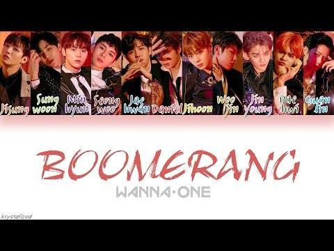 Wanna One (워너원) - BOOMERANG (부메랑) [HAN|ROM|ENG Color Coded Lyrics]