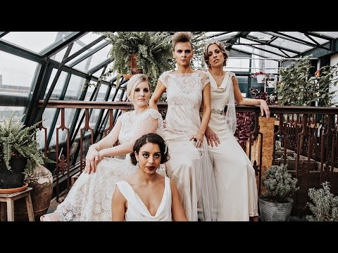 INSPIRATIONAL WOMEN // real brides as iconic women