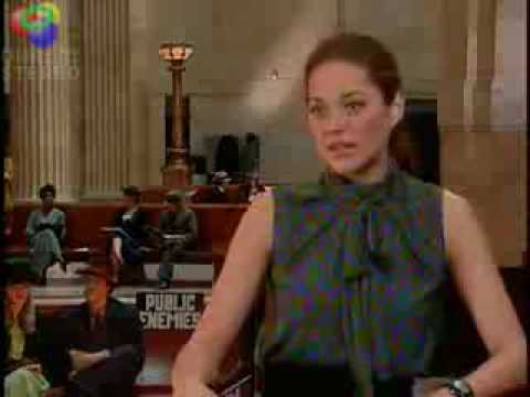 Johnny Deep - Public Enemies Marion Cotillard Interview - EXCLUSIVE