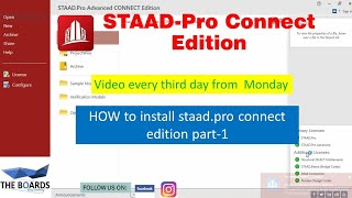 How To Install #staad.pro Connect Edition Part-1