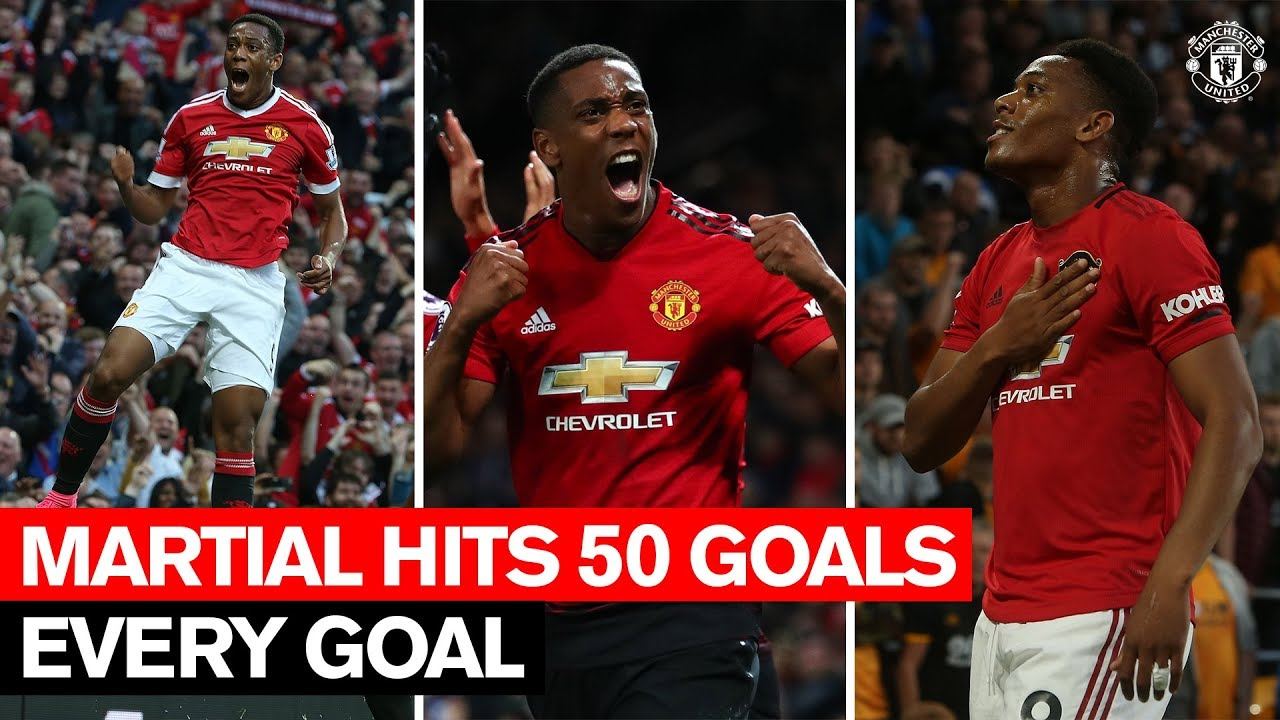 Download Anthony Martial's 50 Goals for Manchester United | Every Goal