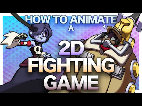 How To Animate A 2D Fighting Game
