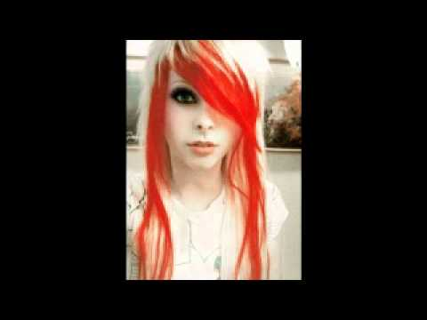 Cute emo hair styles and hair colors - YouTube