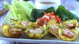 bánh khọt vietnamese mini pancakes