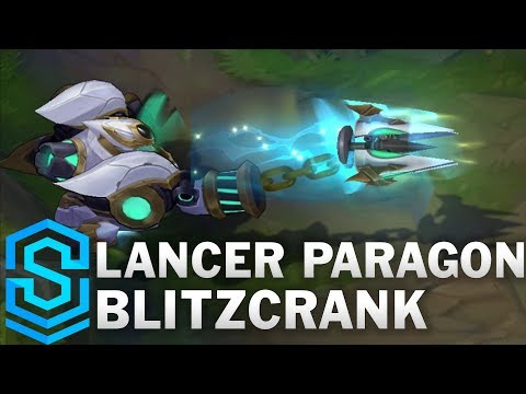 Lancer Paragon Blitzcrank Skin Spotlight - Pre-Release - League of Legends