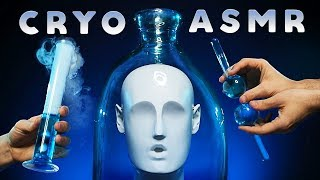 ASMR Cryo Spa Triggers for Sleep - Dry Ice Tingles, Glass Sounds, Liquids & More