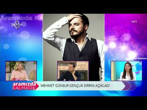 Mehmet Günsür Gençliğinin Sırrını Açıkladı