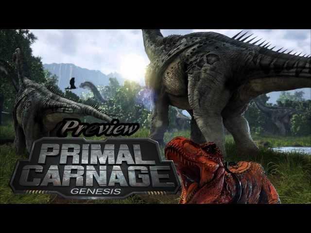 Primal Carnage:Genesis  - Die Vorschau zum Next-Gen-Dinosaurier-Spiel