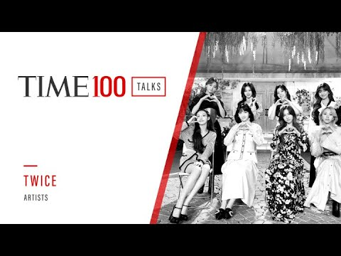 TWICE Shares Words Of Encouragement To Their Fans And All Frontline Workers | TIME100 Talks