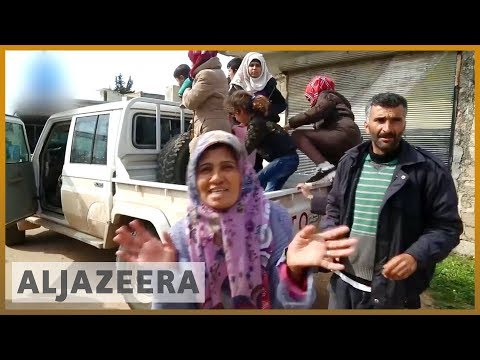 🇸🇾 Hundreds flee Syria's Afrin | Al Jazeera English