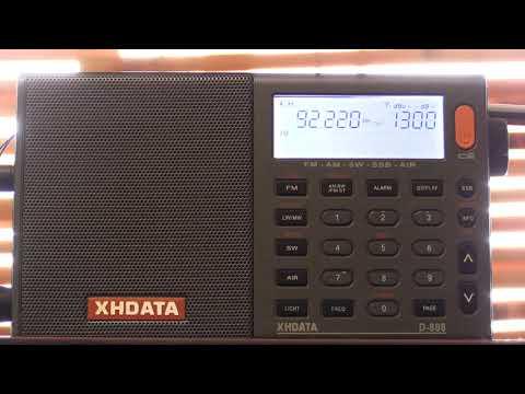 92.2Mhz Viti FM Fiji on the XHDATA