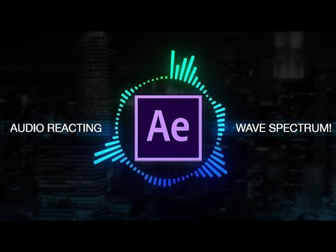 How To Create Audio Spectrum - Adobe After Effects Tutorial