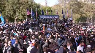 WATCH LIVE: Bernie Sanders holds rally with Alexandria Ocasio-Cortez in New York City