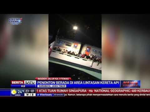 3 Orang di Surabaya Tewas Terjatuh dari Rel Kereta Api Mp3