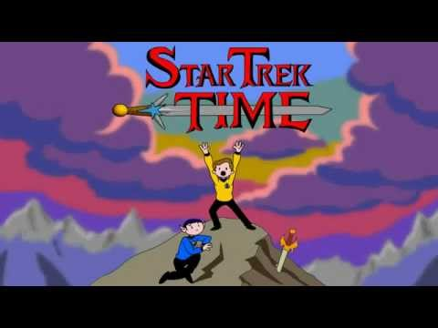 ADVENTURE TIME with KIRK and SPOCK