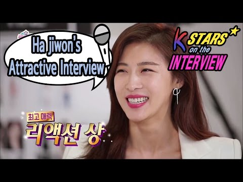 [Section TV] 섹션 TV - Actrees Ha Jiwon Showing Off Her Charm in an Interviwe 20170122