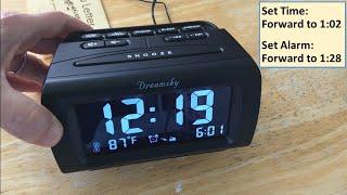 Dreamsky Dimmable Radio Alarm Clock - Perfect!