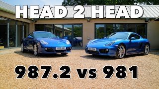 Porsche Cayman S Comparison - 987.2 vs 981