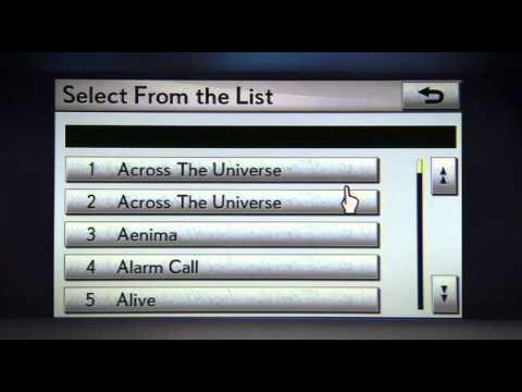 Lexus Audio Systems - USB Port