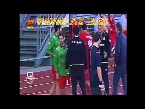 Hashem Beikzadeh هاشم بیگ زاده Iran 0 0 Montenegro Football ایران فوتبال World Cup 2014 Brazil