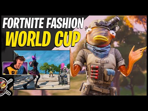 Lachlan's Fortnite Fashion World Cup | We ALMOST Won!