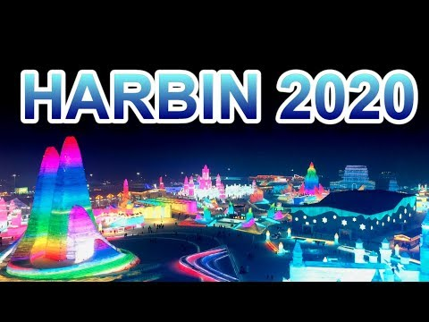HARBIN ICE AND SNOW WORLD 2020 (MUST WATCH!) 【4K+Drone】