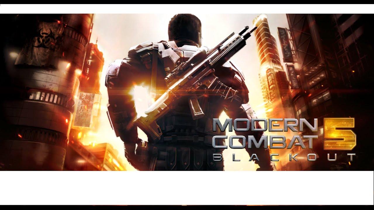 modern combat 5 blackout gameplay mission 1 windows 10