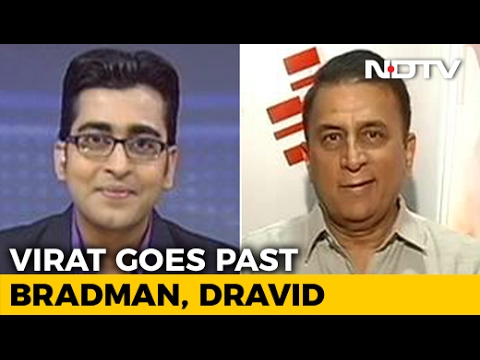 Virat Kohli on His Way to Becoming a Legend: Gavaskar to NDTV