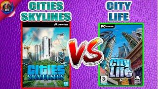 Градостроительные симуляторы: Cities Skylines VS City Life \\\\ Что лучше?