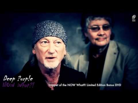 Deep Purple NOW What?! Limited Edition Bonus DVD Interview Snippet (HD)