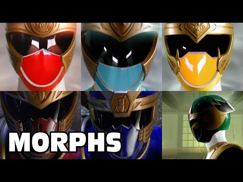 Power Rangers Ninja Storm - All Ranger Morphs | Episodes 1-38 | It's Morphin Time | Superheroes