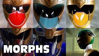 Power Rangers Ninja Storm - All Ranger Morphs | Episodes 1-38 | It