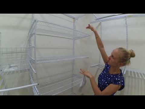 модульная система хранения для гардеробных