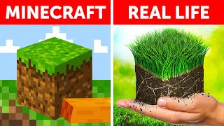What if Minecraft was real life?