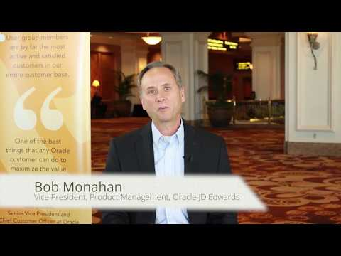 Bob Monahan invites you to attend JD Edwards INFOCUS 17