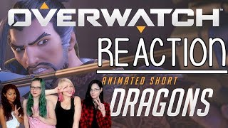 "[REACTION] Overwatch Animated Short ""Dragons"" 