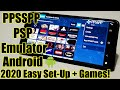 Gambar cover PPSSPP - PSP Emulator - Android - 2020 - Easy Set Up And Games!
