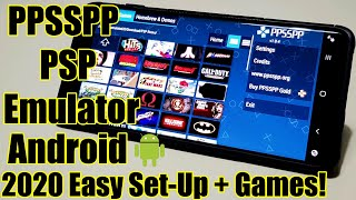 PPSSPP - PSP Emulator - Android - 2020 - Easy Set Up And Games! screenshot 2