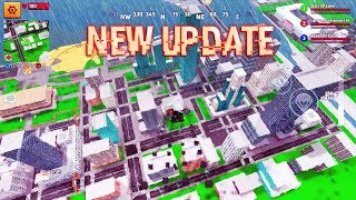 BLOCK CITY WARS NEW BATTLE ROYALE UPDATE