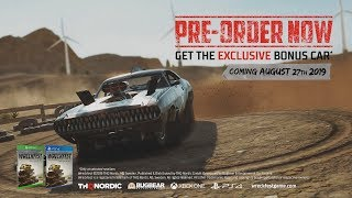 Wreckfest - Console Release Date Trailer [PS4, Xbox One]